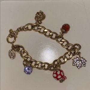 RARE* Juicy Couture Fall Charm Bracelet